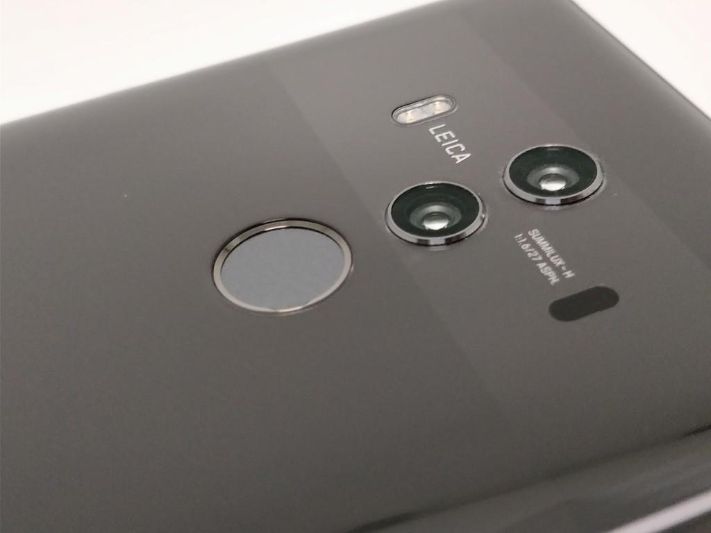 Huawei Mate 10 Pro デュアルカメラ