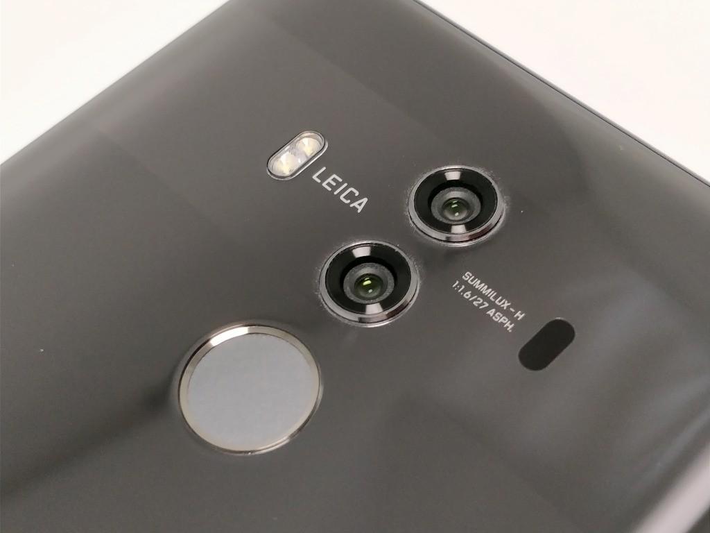 Huawei Mate 10 Pro カメラ