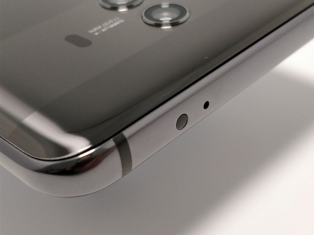 Huawei Mate 10 Pro 側面 上 赤外線