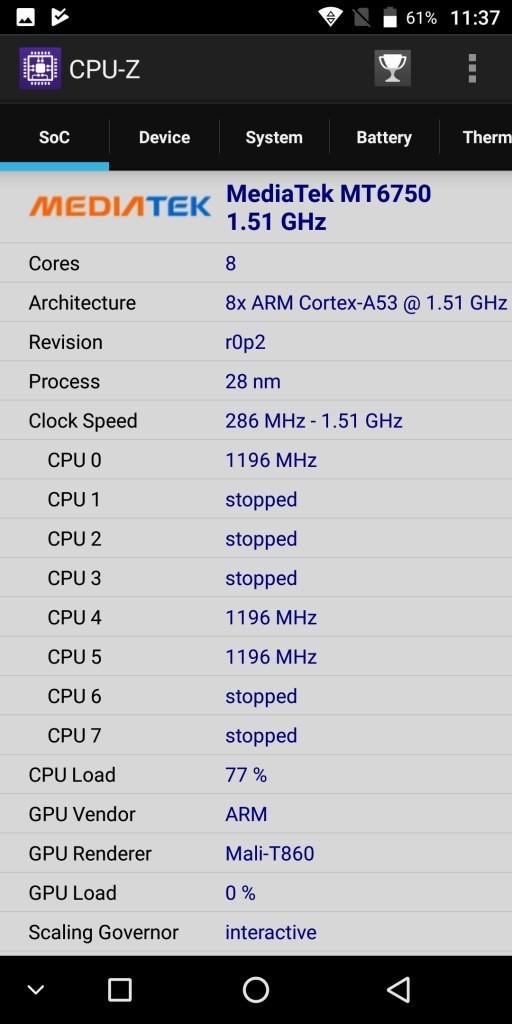 KOOLNEE K1 CPU-Z1
