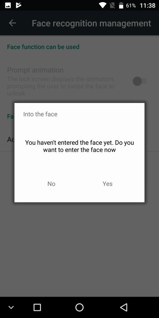 KOOLNEE K1 Face recognition6