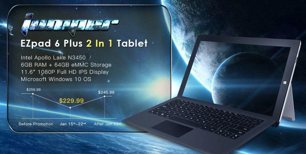 Jumper EZpad 6 Plus 229.99