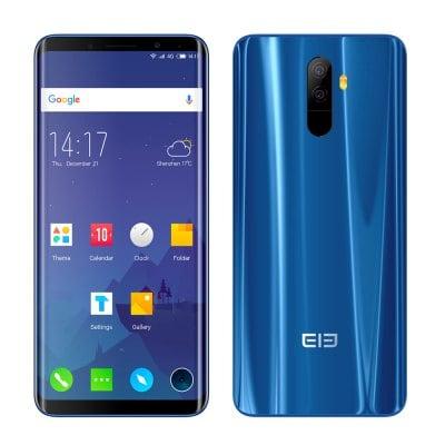 Elephone U MTK6763T 2.0GHz 8コア BLUE(ブルー)