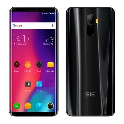 Elephone U MTK6763T 2.0GHz 8コア BLACK(ブラック)