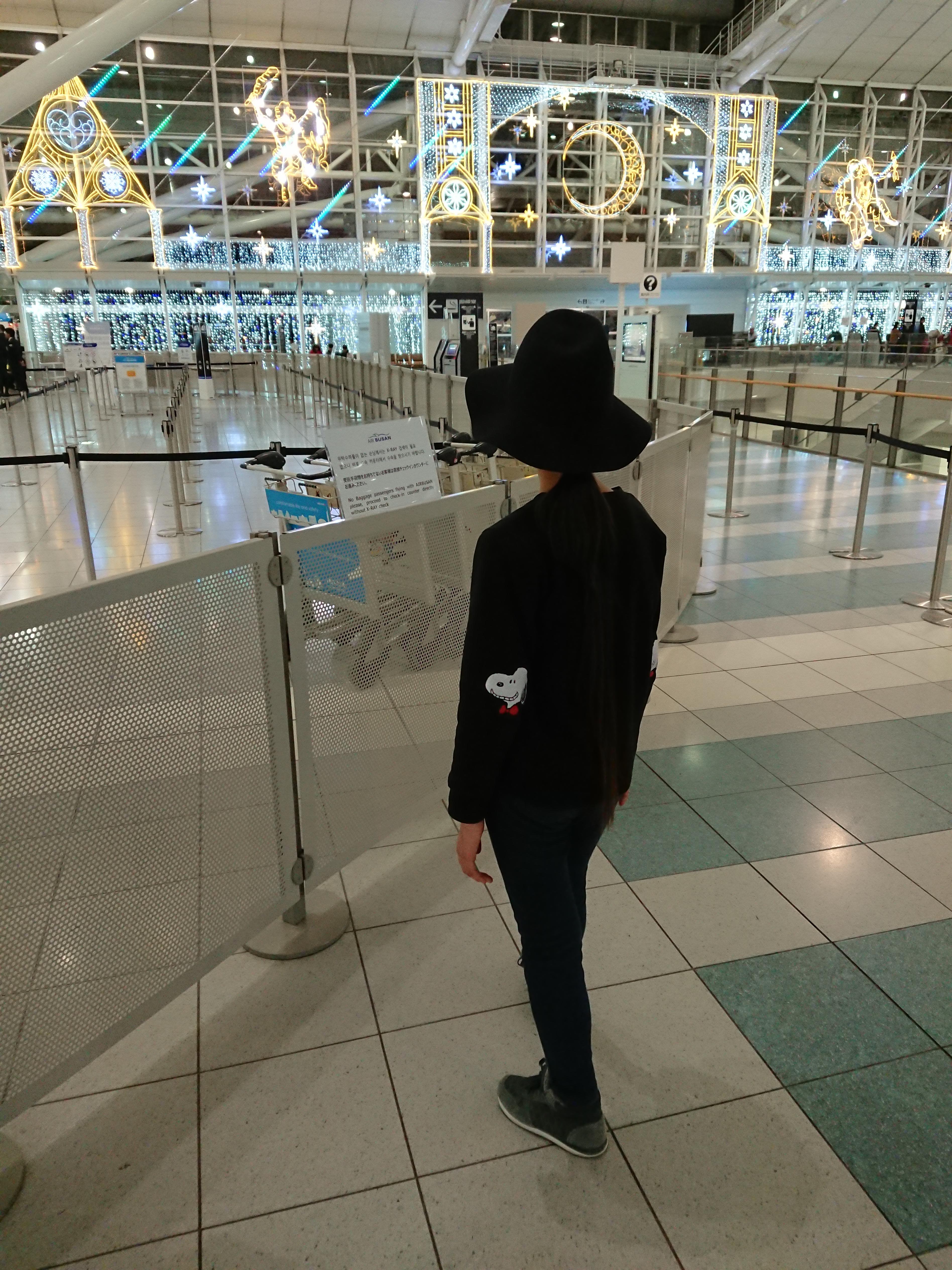 福岡国際空港 Xperia XZ1 ISO-400