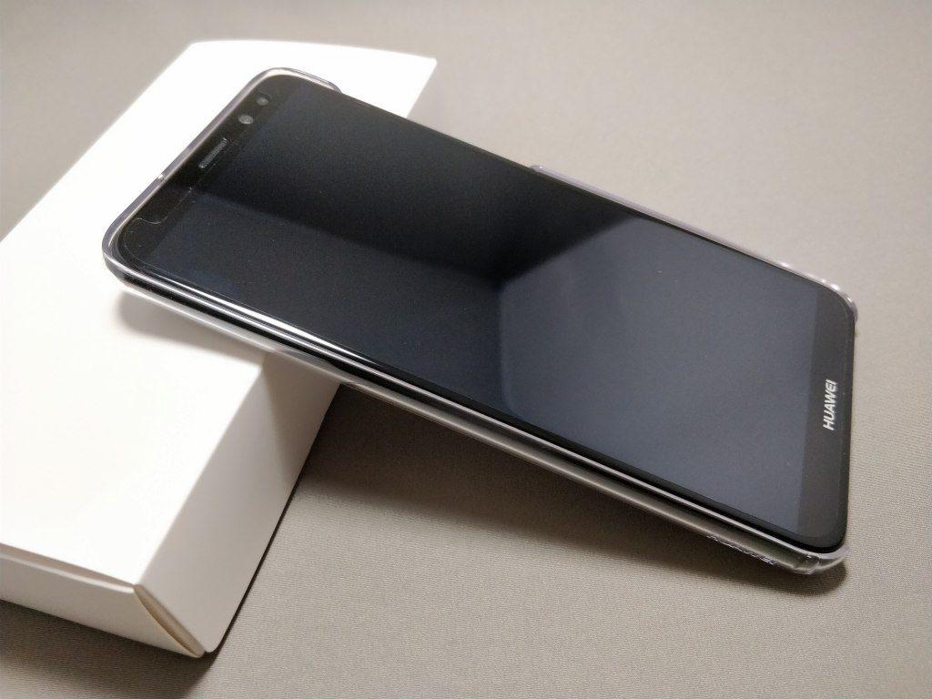 IMG_20180120_Huawei Mate 10 Lite 化粧箱 保護ケース 表
