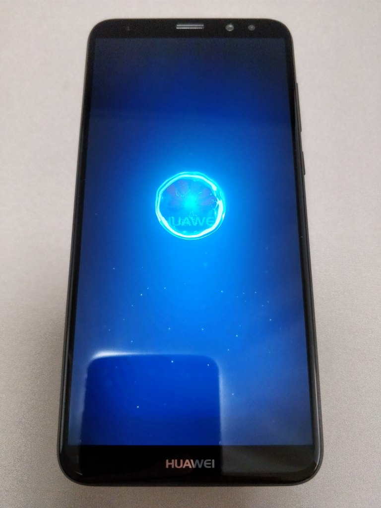 Huawei Mate 10 Lite 起動 6