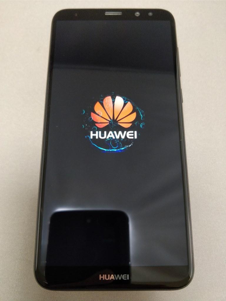 Huawei Mate 10 Lite 起動 10