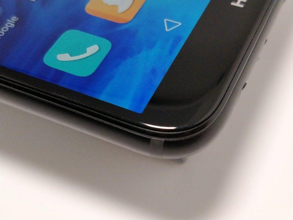 Huawei Mate 10 Lite ベゼル