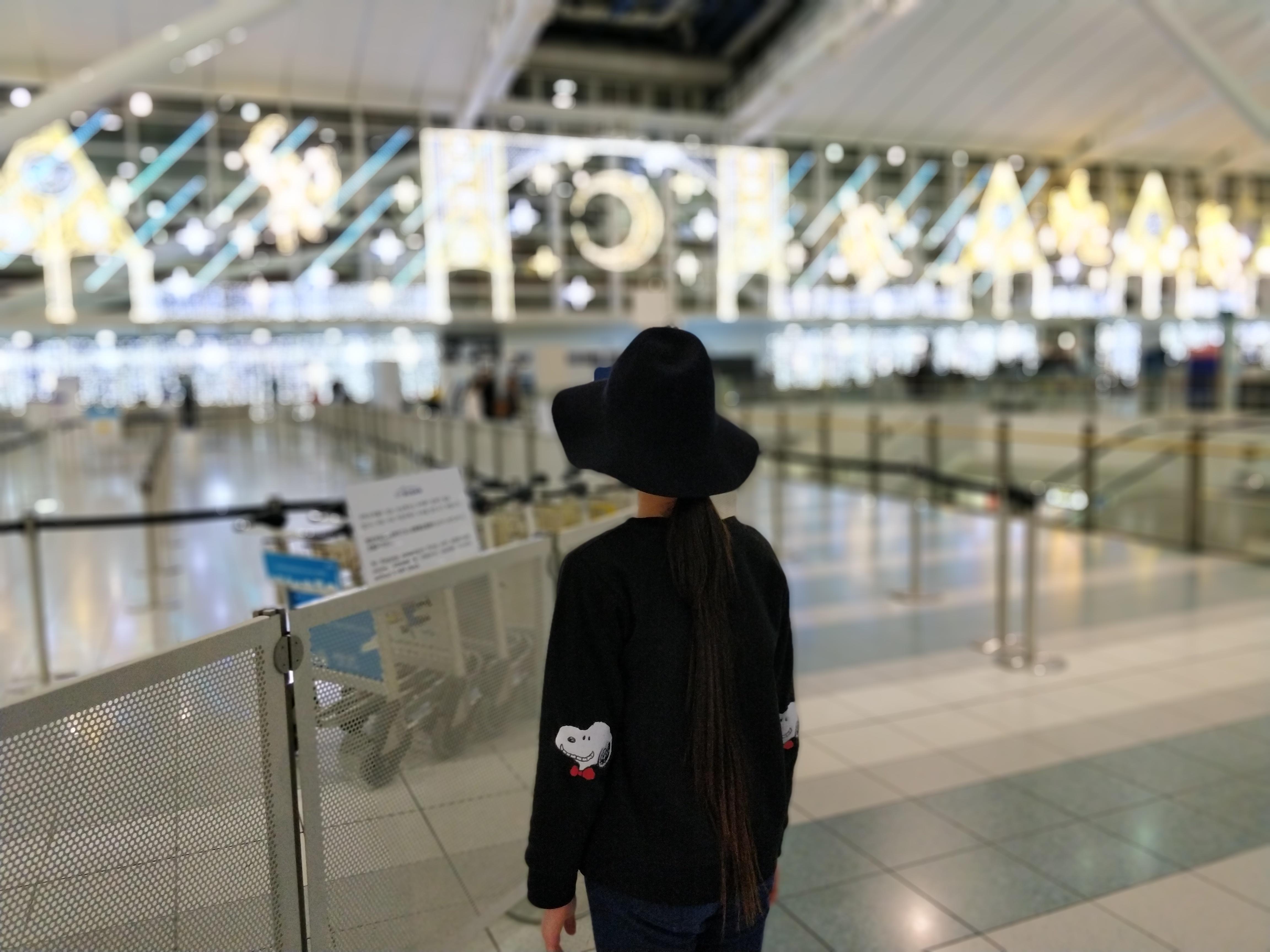 福岡国際空港 ボケ OnePlus 5T