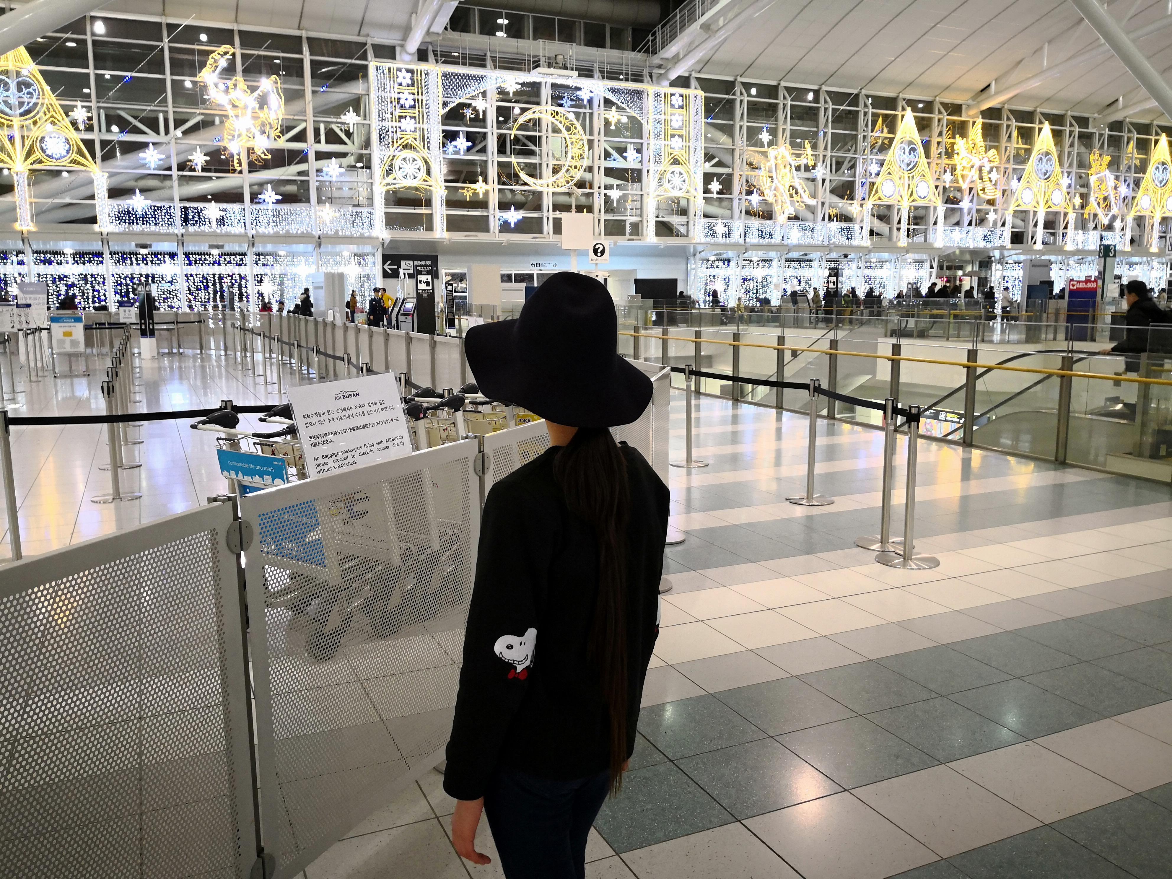 福岡国際空港 ノーマル Huawei Mate 10 Pro