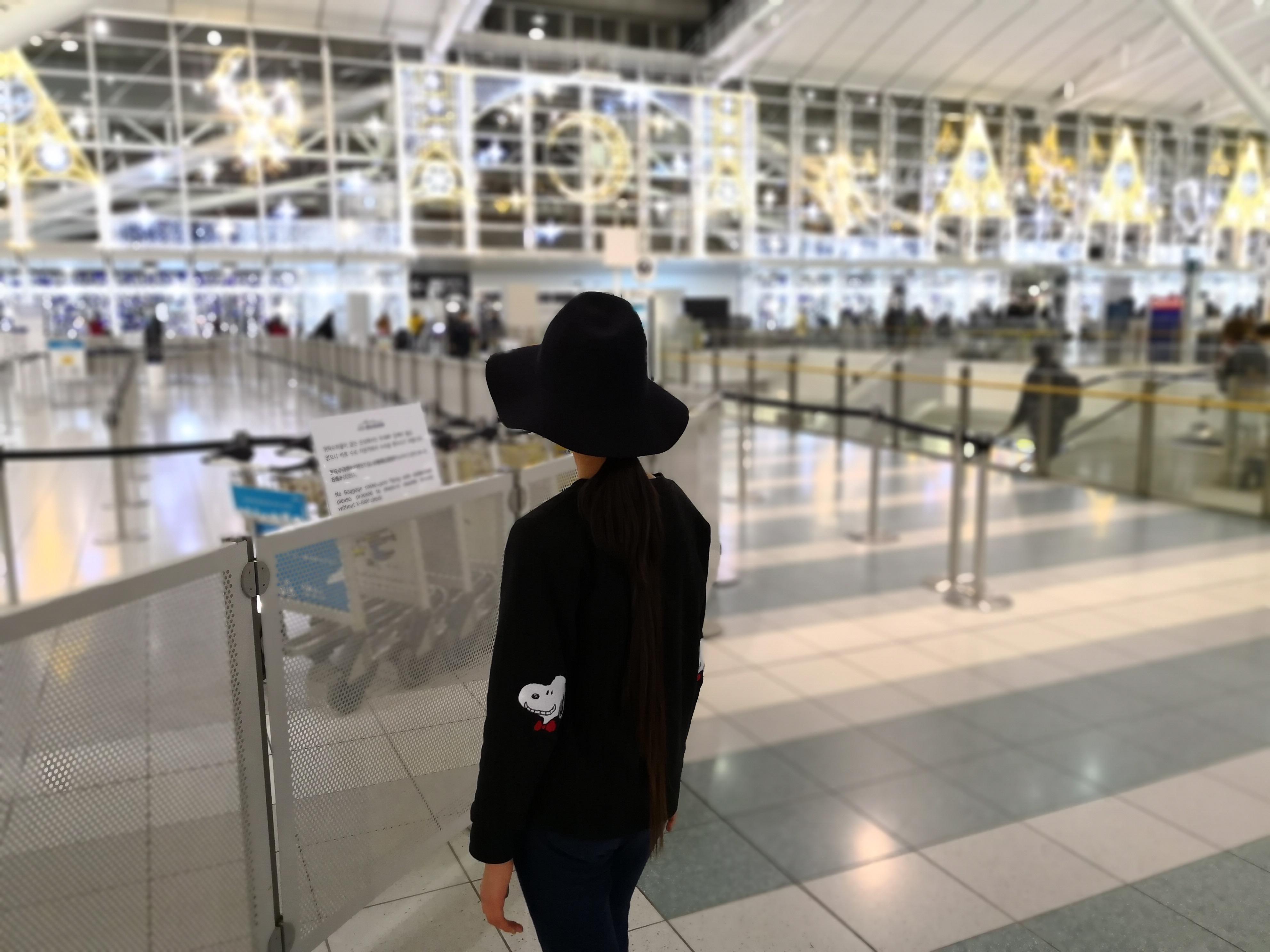 福岡国際空港 ボケ Huawei Mate 10 Pro