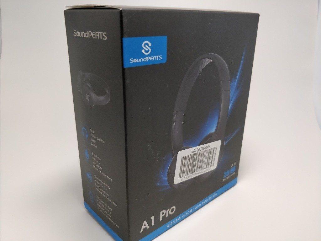 SoundPEATS A1 Pro 化粧箱 斜め