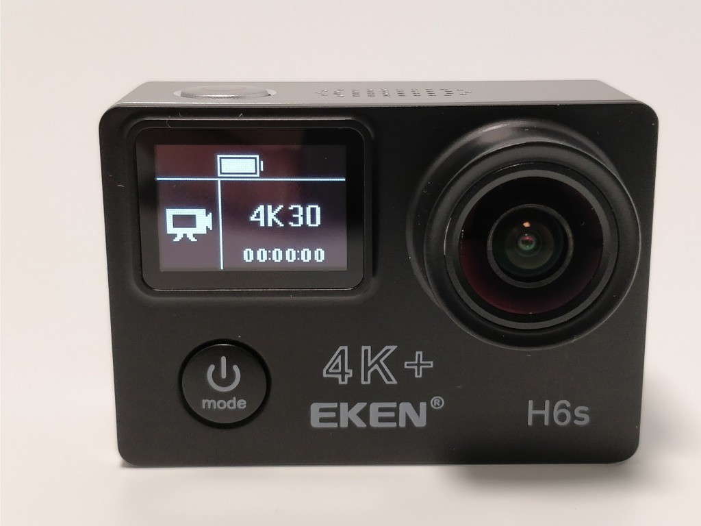 EKEN H6s EIS 起動 表