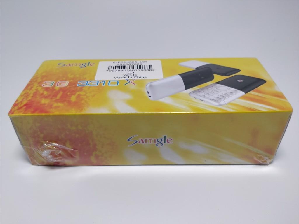 Samgle 3310 X 3G 化粧箱 斜め