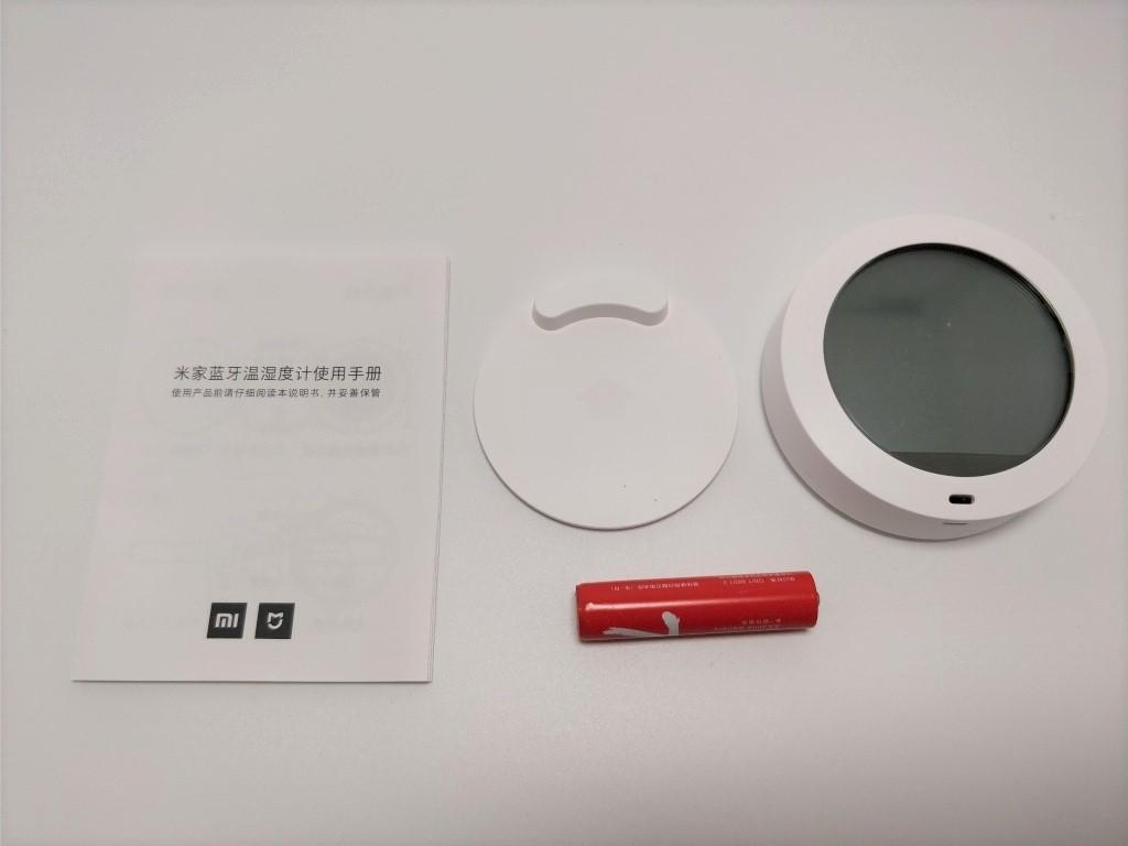 Xiaomi Mijia 温湿度計 梱包 セット