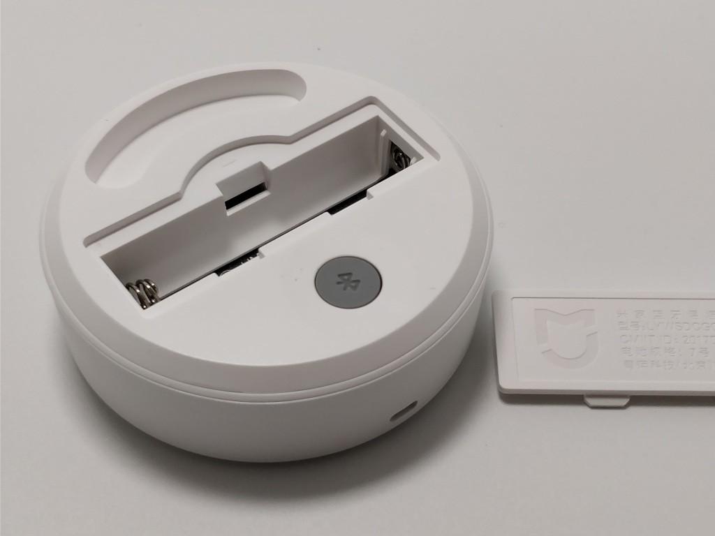 Xiaomi Mijia 温湿度計 梱包 電池