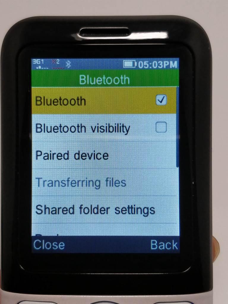 Samgle 3310 X 3G Bluetooth