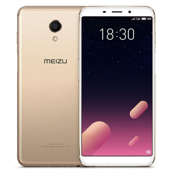 Meizu M6s Exynos 7872 2.0GHz 6コア GOLD(ゴールド)