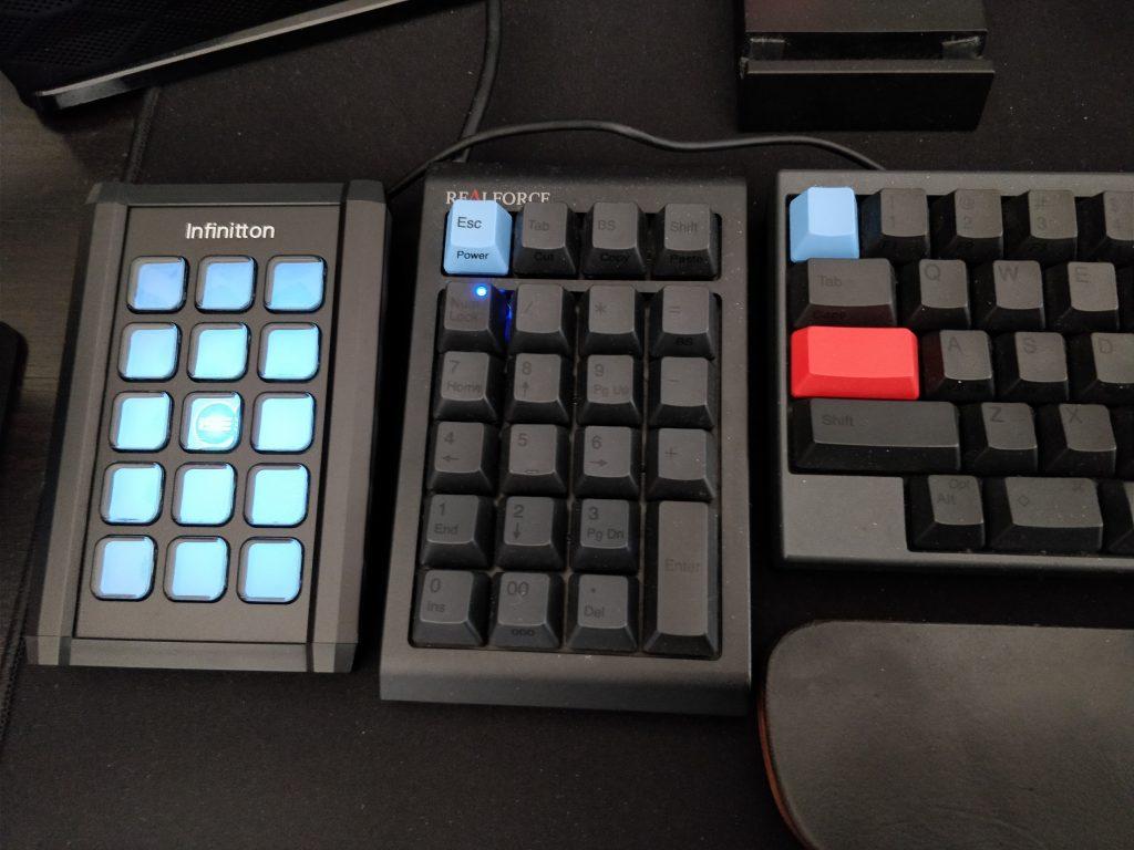 Infinitton 液晶キーボード 設置