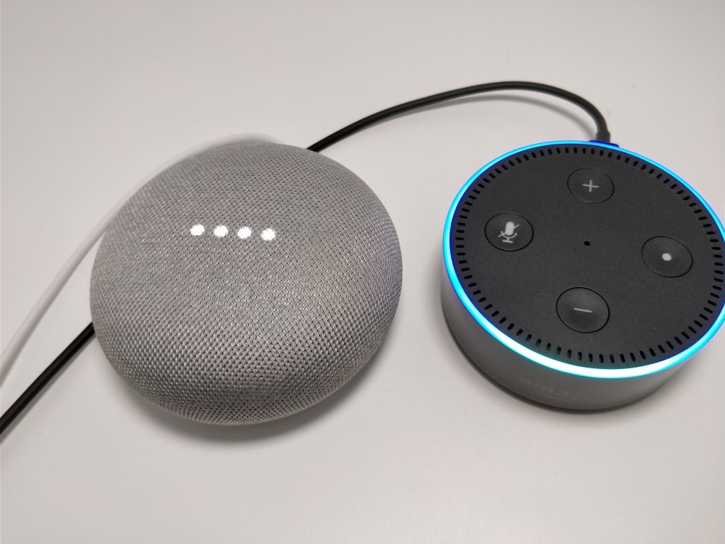 Amazon Echo Dot VS Google Home
