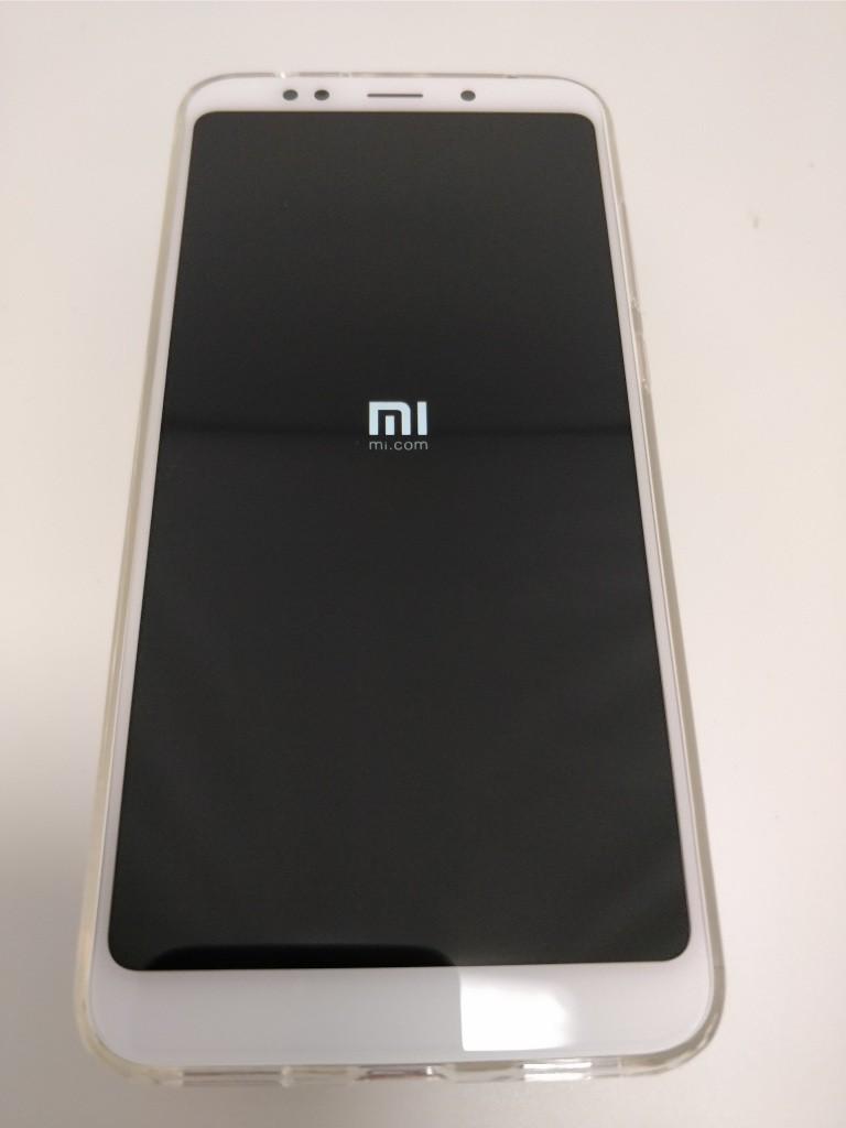 Xiaomi Redmi 5 Plus 起動 MI