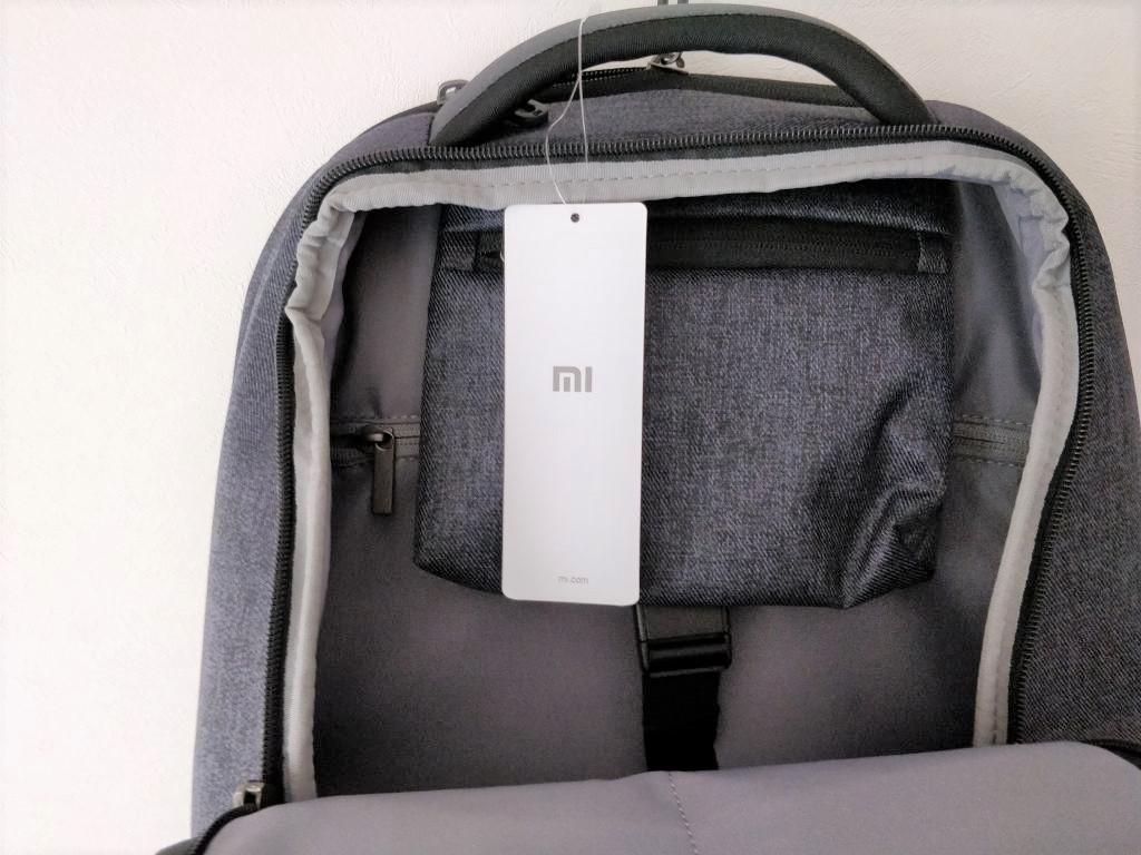 Xiaomi 26L ラップトップ バックパック  サブポケット 中