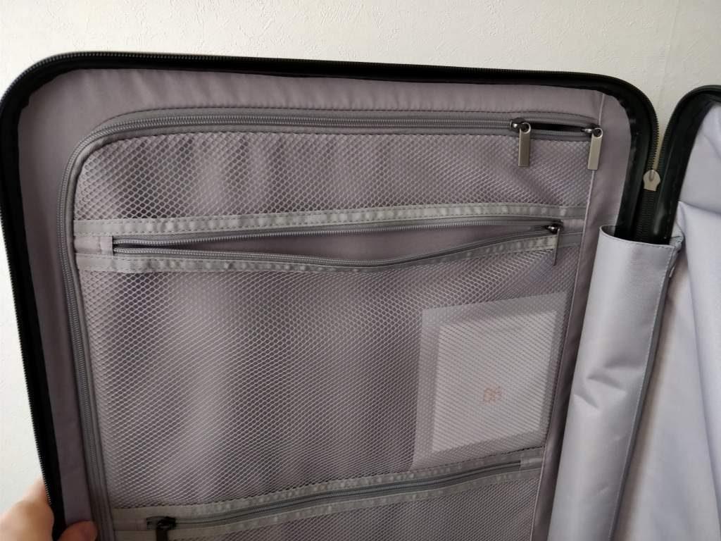 Xiaomi 90FUN 24 inch Travel Luggage  開ける ポケット