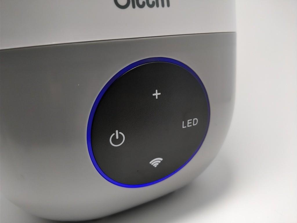 Oittm 超音波式3L スマート加湿器 青LED