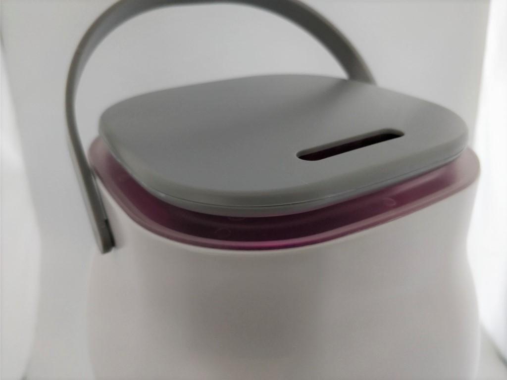Oittm 超音波式3L スマート加湿器 上 パープル