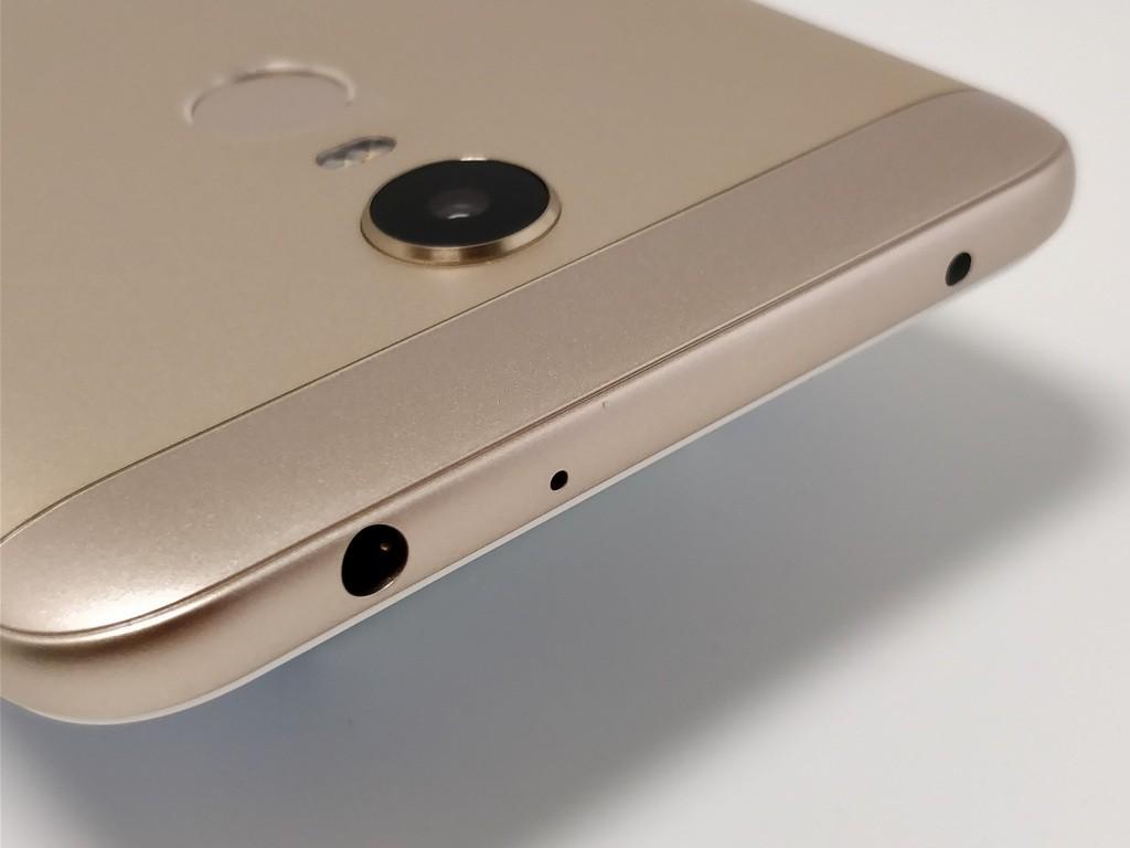 Xiaomi Redmi 5 Plus 側面上