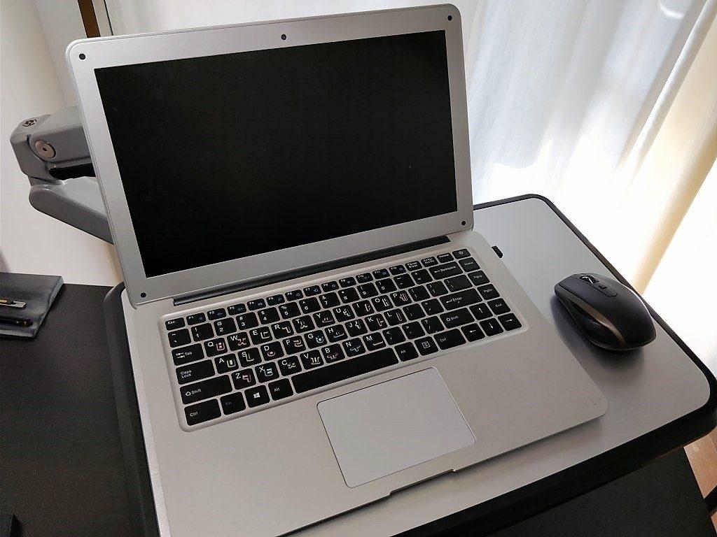 Loctek ラップトップスタンド 10-17インチ対応S2L 梱包 プレート ラップトップ 開く マウス