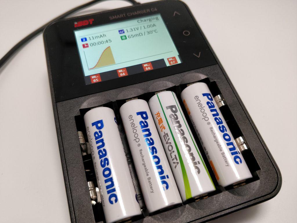 ISDT C4 8Aバッテリー充電器 ニッケル水素電池