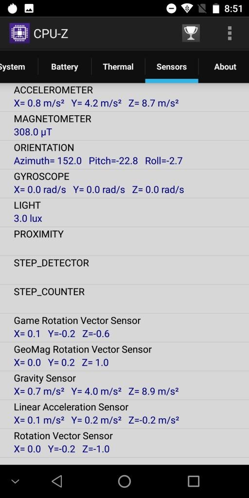 OKUKITEL MIX 2 CPU-Z 2