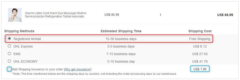 Xiaomi Lefan コールド・ウォーム アイマッサージャー  GeekBuying 海外通販