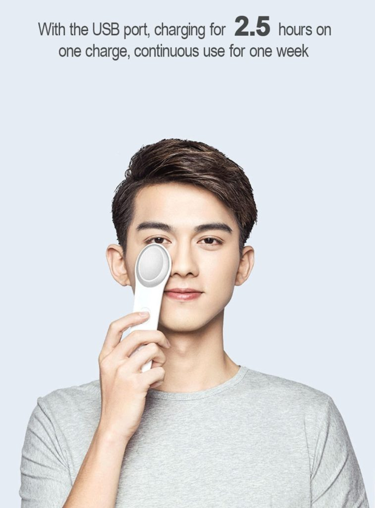 Xiaomi Lefan コールド・ウォーム アイマッサージャー  2.5時間