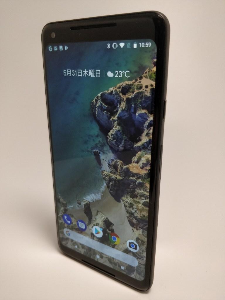 Pixel 2 XL 表面