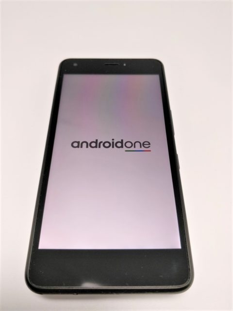 Android One S4 起動
