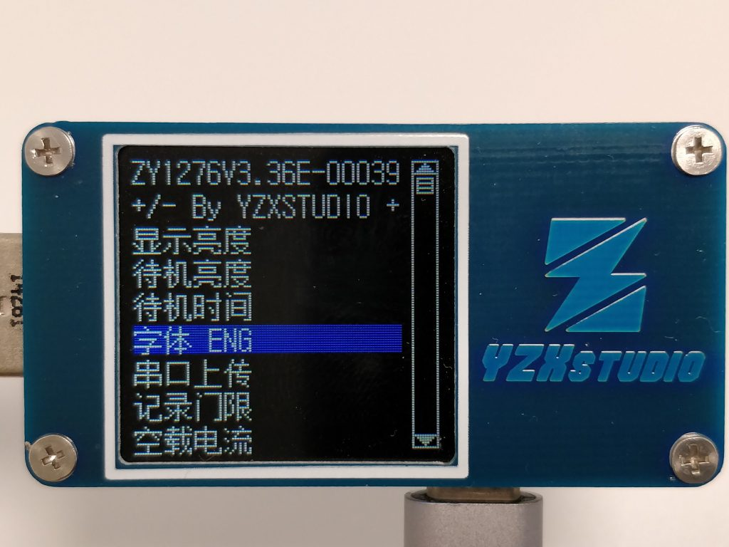 YZXstudio ZY1276  フォント 中国語