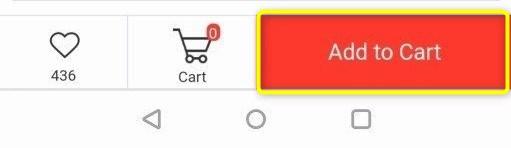 Add to Cartボタンを押す