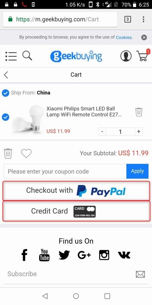 Paypal決済とカード払いの違い