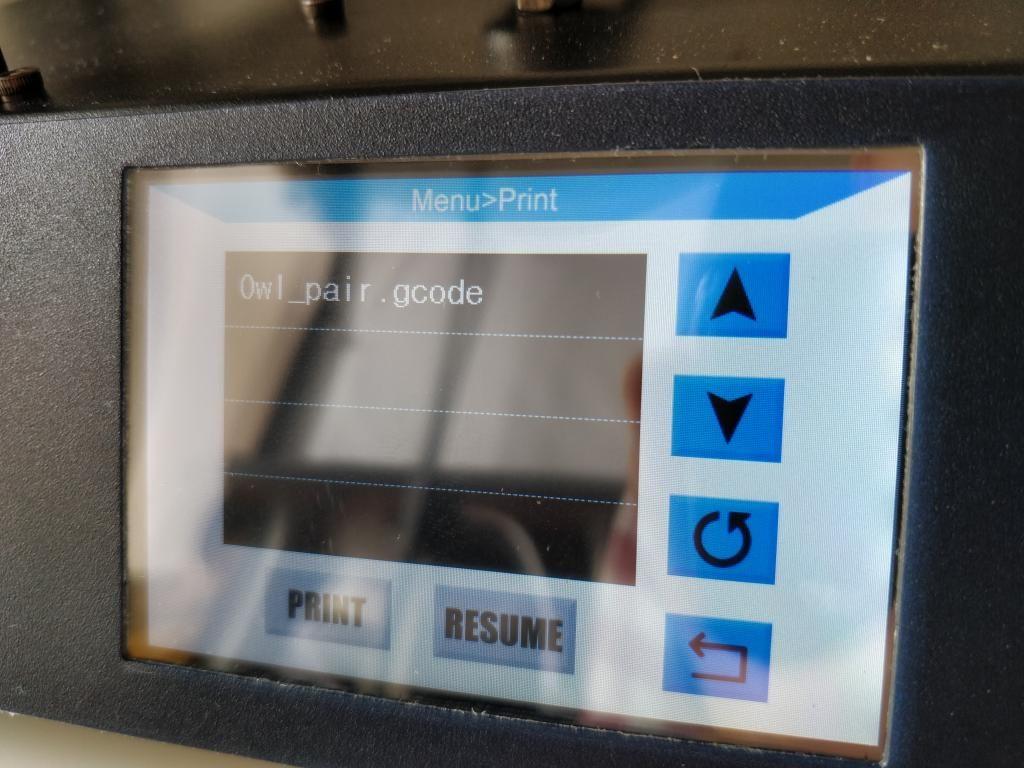 Anycubic I3 Mega プリント Gcode