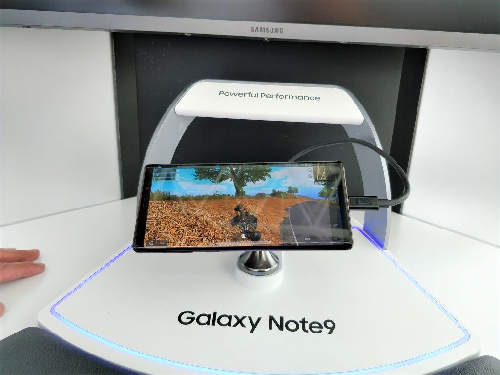 Galaxy note 9 ソウル駅 DEX