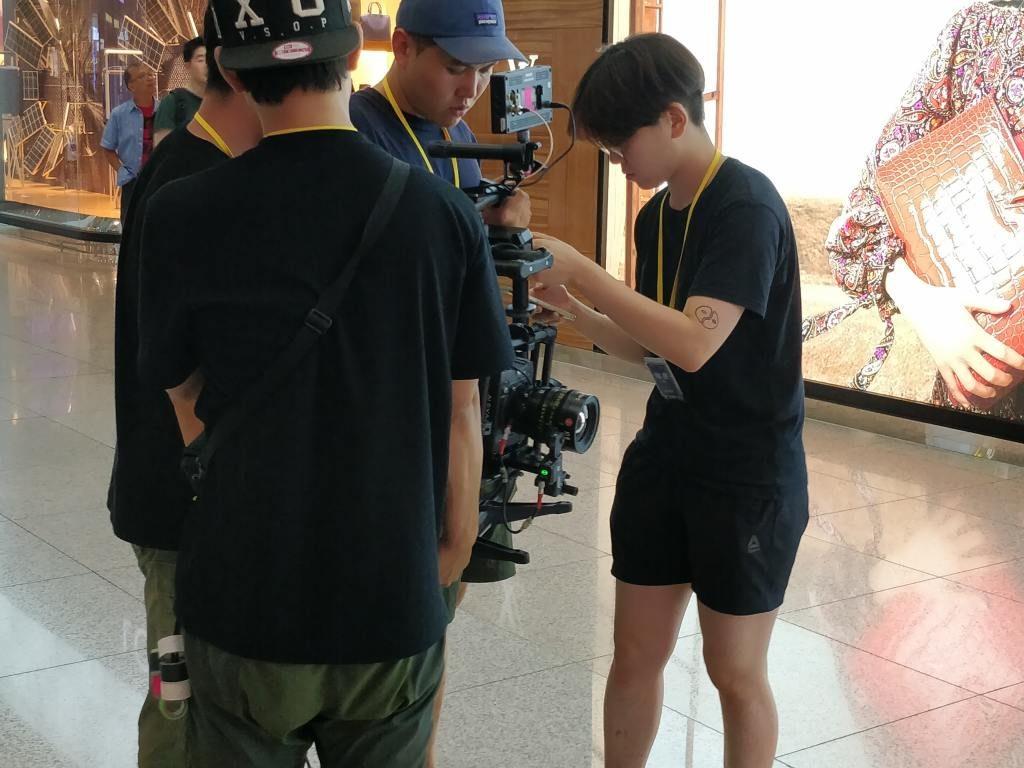 仁川国際空港 ジンバル カメラ2