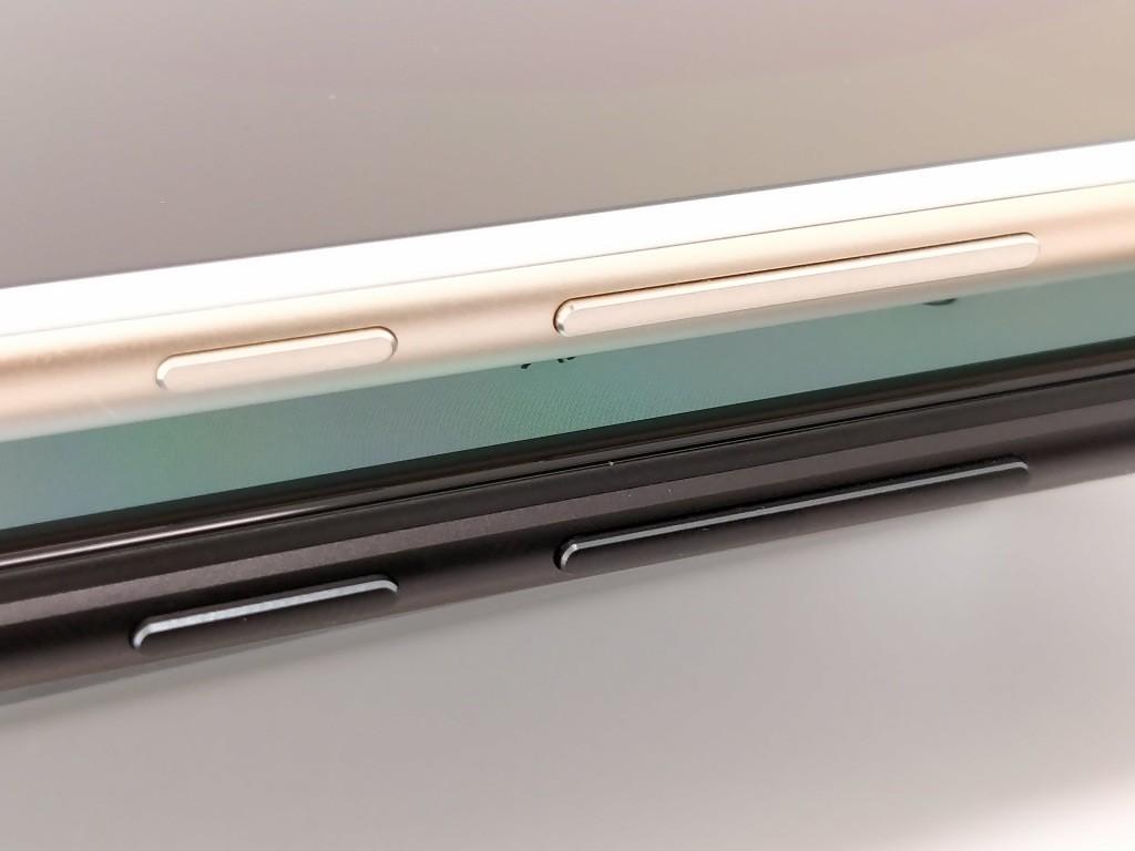 Xiaomi Mi Max 3 VS Mi Max 2 ボタン