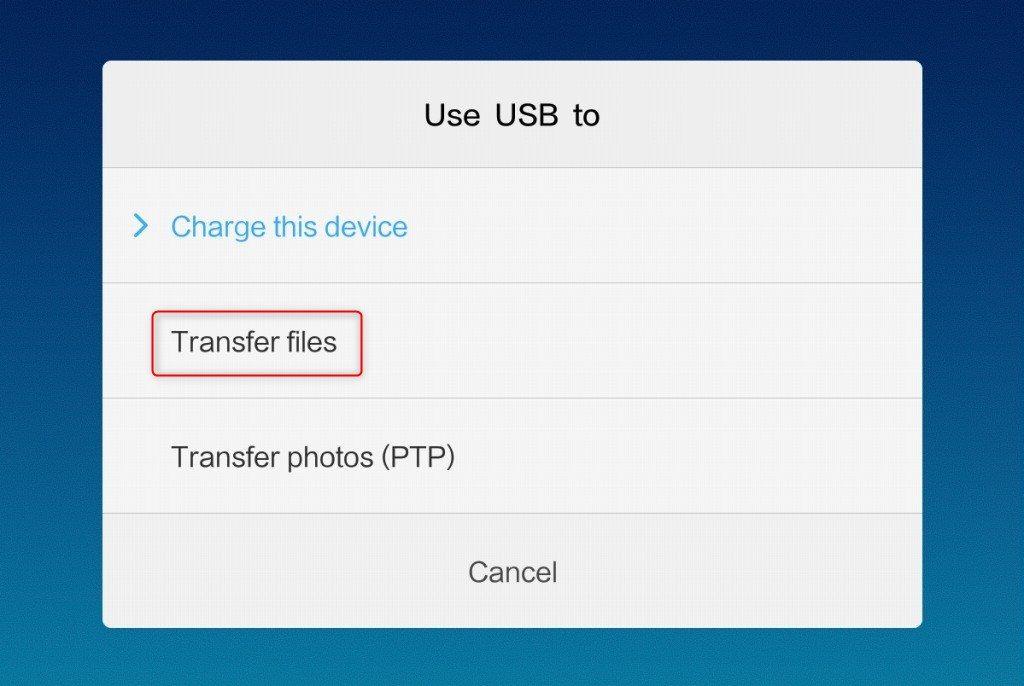 Google_Installer.apk File Transfer