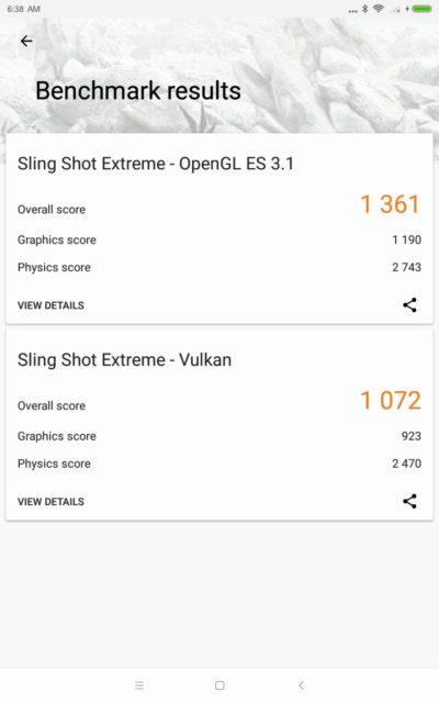 Xiaomi Mi Pad 4 Plus 3DMark