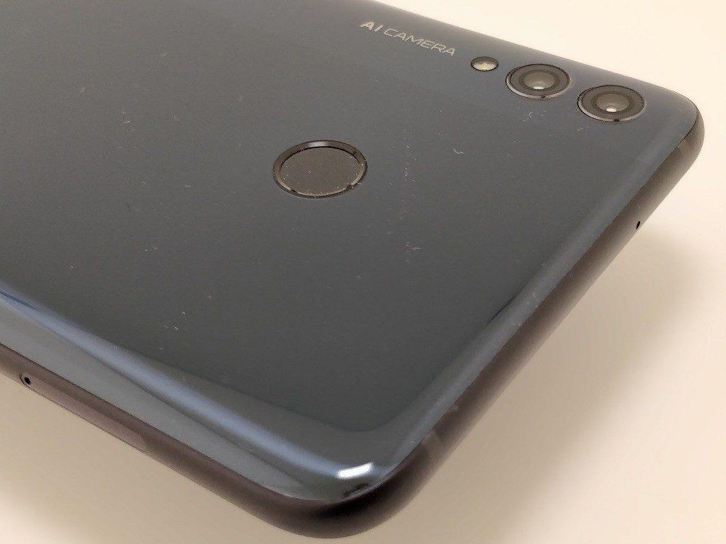 Huawei Honor 8X Max 裏面 ズーム指紋