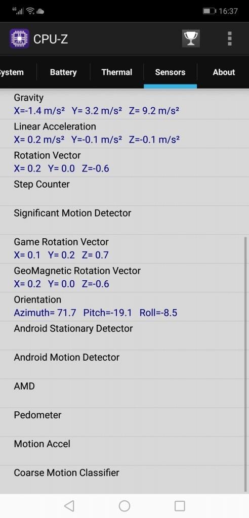 Huawei Honor 8X Max CPUZ7