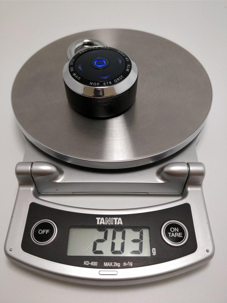 Padlock 1500eXD 重量